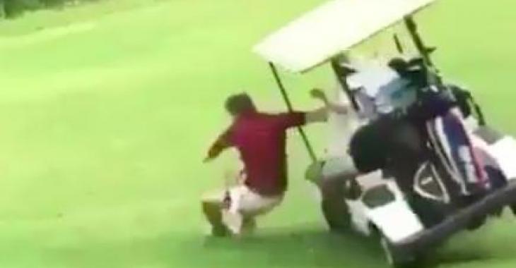 La saison du golf bat son plein, tentez de ne pas faire comme ces gens! Hahaha