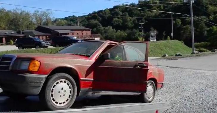 Cette voiture est la plus sale que vous aurez vu, mais ce qu,ils arrivent à faire est tout simplement remarquable!