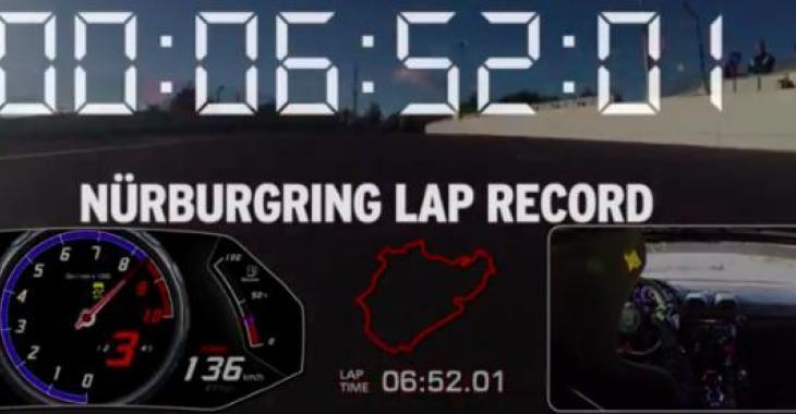 Cette Lamborghini tente d'établir un record sur le fameux Nürburgring, vous serez épatés par sa performance!