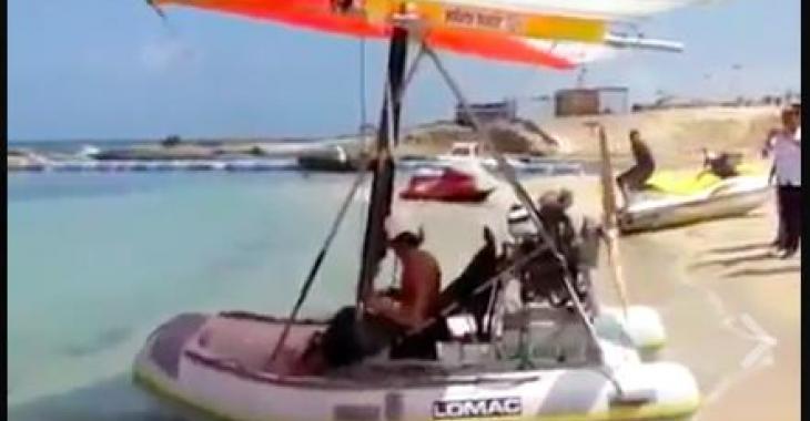 Un bateau volant! C'est malade; vous voudrez en avoir un!