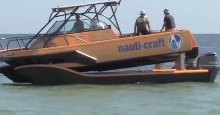Ce bateau n'a rien d'ordinaire! Il vous surprendra à coup sur! :D