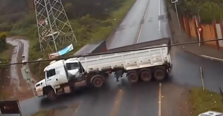 Les 10 accidents de camions les plus violents, le 4e et le 8e sont effrayants!