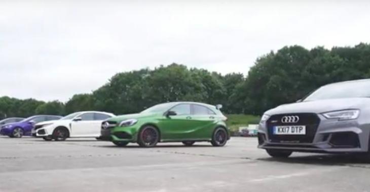 Un face à face surprenant, entre 5 petites voitures hyper performantes; laquelle sera la plus performante?