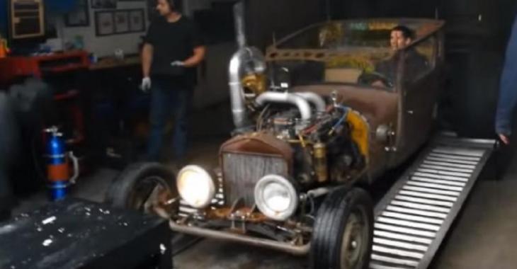 Ce Ratrod Diesel avec Nitro tout remonté brise le dyno, tout explose!