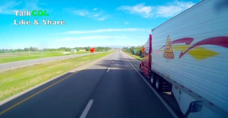 Ces camionneurs ne devraient pas avoir le droit de conduire; ils sont dangereux pour la population!