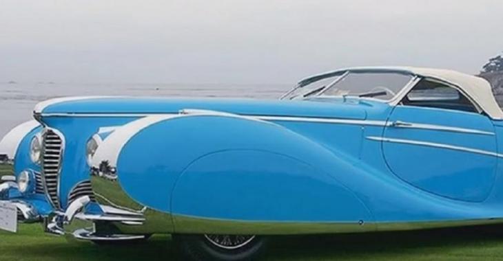 Voici les voitures classiques les plus rares, elles attirent particulièrement l'attention!