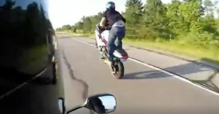 On s'habille en moto....