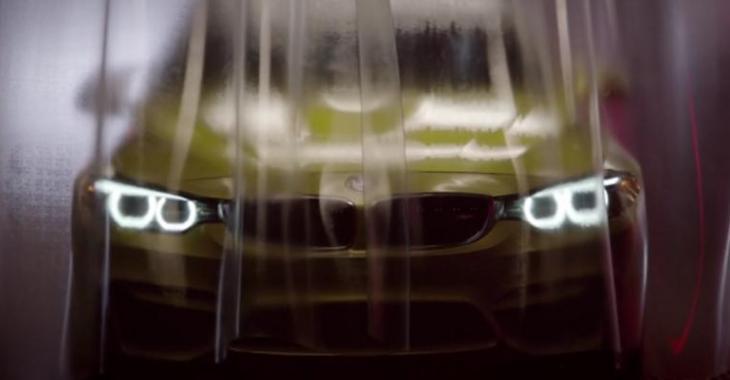BMW met toute la gomme en présentant sa M4 dans une vidéo d'ACTION, ça vaut la peine!