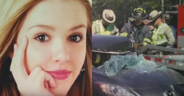 Elle texte au volant et cause un accident, voyez comment sa vie est bouleversée depuis.
