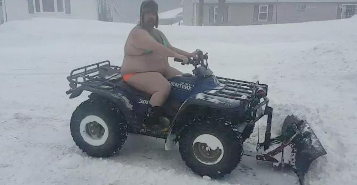 Ce météorologue du Nouveau-Brunswick se laisse aller...