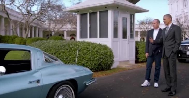 VIDÉO: Même le Président Obama aime les Corvettes!