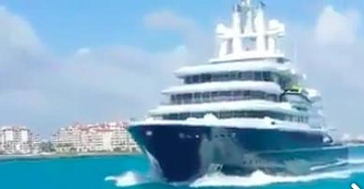 Ils font u bateau, mais ce mastodonte arrive, sa valeur est tout simplement incroyable!