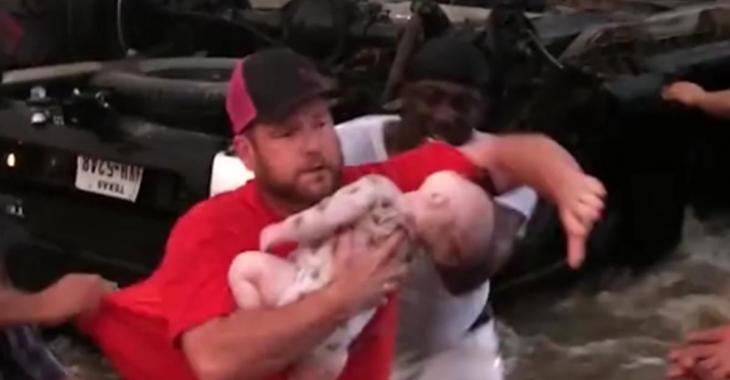 La vidéo de ce sauvetage de bébé a rapidement fait le tour du monde, vous comprendrez vite pourquoi!