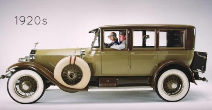 L'évolution des voitures de luxe à travers les années, incroyable la différence avec autrefois!