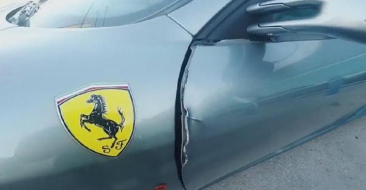 Il fait réparer la portière brisée de sa Ferrari F430, le montant de la facture est RIDICULE!