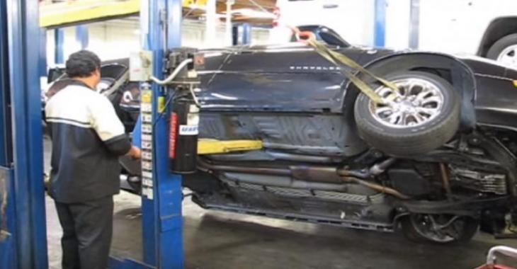 Le mécanicien commet une grave erreur, maintenant le véhicule a vraiment besoin de réparations!