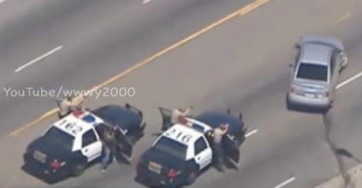 Une poursuite policière pas comme les autres!!!