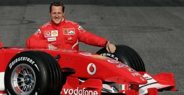 Aujourd'hui, c'est un jour important pour Michael Schumacher!