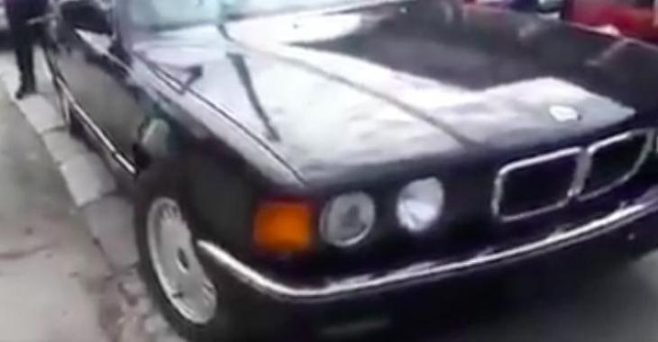 On croirait voir une simple vieille BMW, mais détrompez-vous, elle n'a absolument rien d'ordinaire!