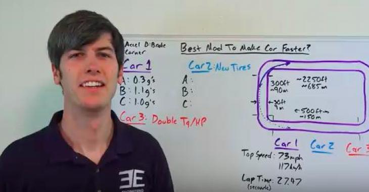 Quelle est la meilleure modification pour obtenir une voiture plus rapide? Cet homme vous l'explique!