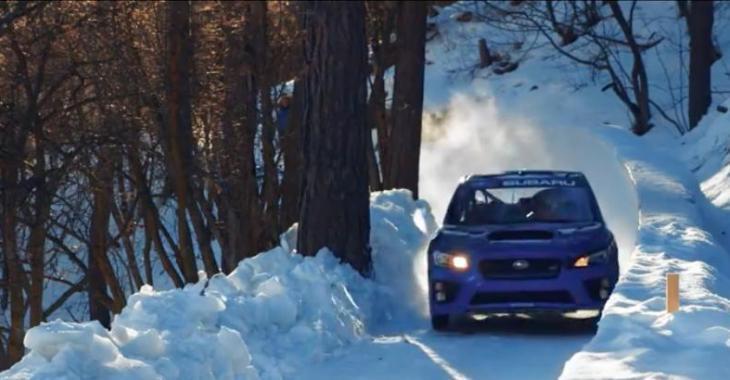 Ce Subaru STI descend une piste de BobSleigh ! C'est complètement malade!