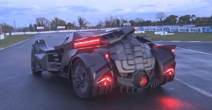 La nouvelle BatMobile 2016, son véhicule est fascinant!