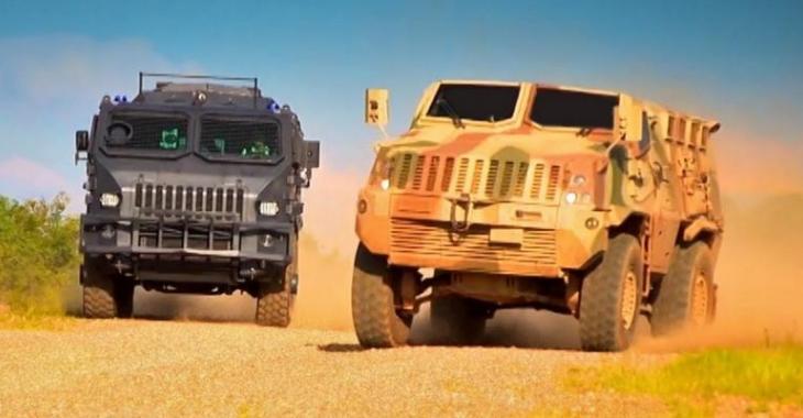 VIDÉO: Course épique de véhicules blindés!