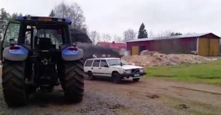 Ce vieux Volvo est encore fringuant! Il vous épatera!