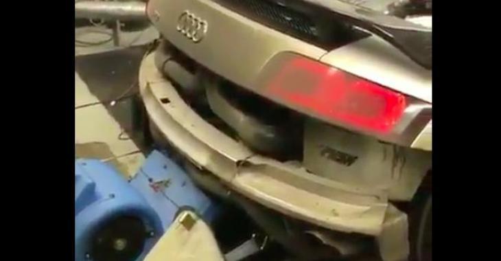 Cette Audi R8 n'a rien d'ordinaire! C'est un vrai monstre!