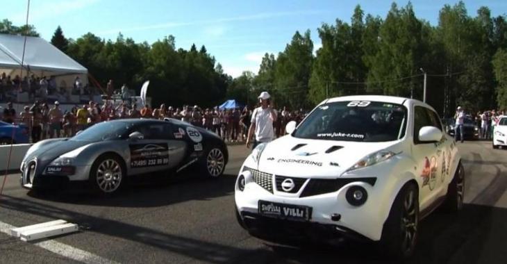 VIDÉO: Cette Nissan Juke ridiculise une Ferrari 599 GTO et une Bugatti Veyron!