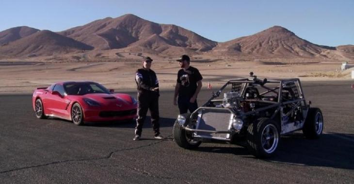 Ils se fabriquent un Kart sur mesure avec une Corvette, le résultat est incroyable!