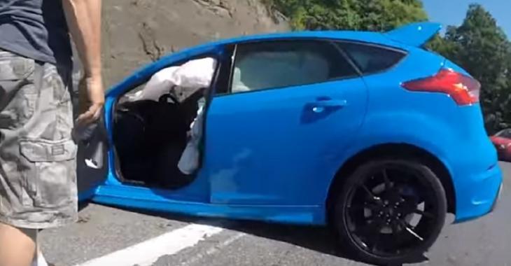 Catastrophe pour le propriétaire de cette Focus RS 2016, son erreur est LAMENTABLE!