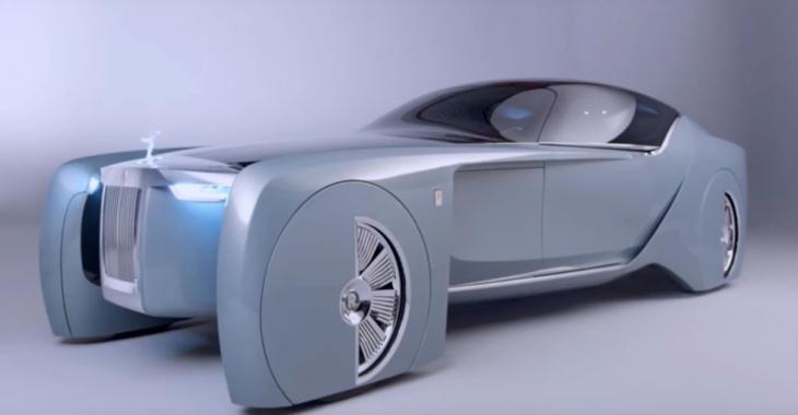 103EX: la vision future de Rolls Royce commence ici.