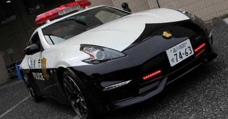 3 nouvelles voitures de police incroyables à Tokyo, ce sera difficile de se sauver!