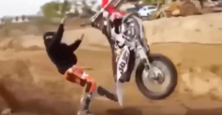Des Motocyclistes qui font des erreurs...