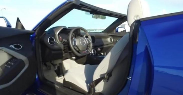 La nouvelle Camaro SS décapotable est disponible et donne une excellente compétition aux Mustang GT!