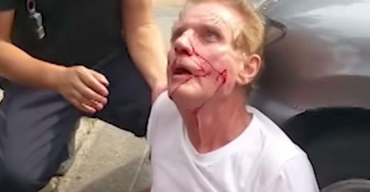 Un homme sort une machette suite à une histoire de rage au volant et ça se termine mal pour lui