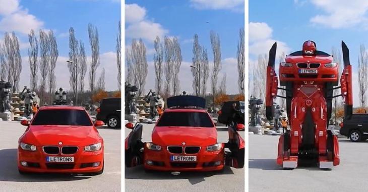 Des ingénieurs modifient cette BMW en Transformer, les mécanismes sont irréels!