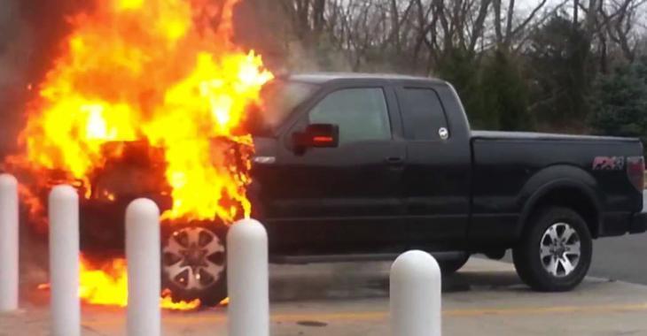 Important rappel de Ford à propos de 450 000 véhicules qui pourraient s'enflammer.