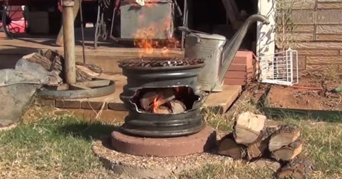 Comment Faire Un Barbecue Avec De Vieilles Jantes Trucs Et